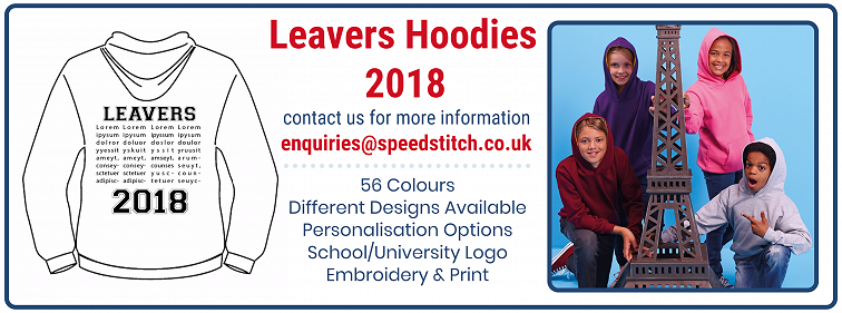 Leavers Hoodies 2018